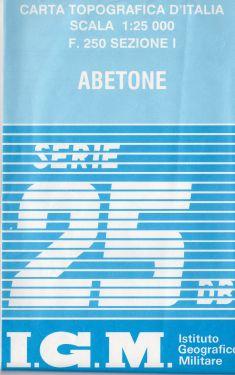 Abetone 1:25.000