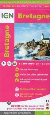 Bretagne / Bretagna 1:250.000