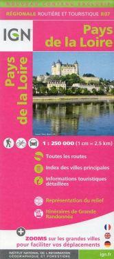 Pays de la Loire / Paesi della Loira 1:250.000