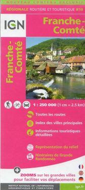 Franche-Comté / Franca-Contea 1:250.000