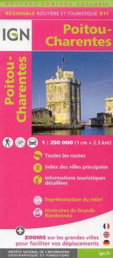 Poitou-Charentes 1:250.000