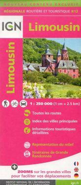 Limousin / Limosino 1:250.000