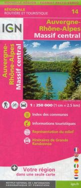 Auvergne / Alvernia 1:250.000
