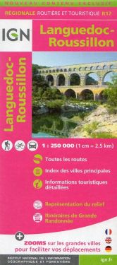 Languedoc-Roussillon / Linguadoca-Rossiglione 1:250.000