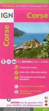 Corse - Corsica 1:250.000
