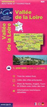 Vallée de la Loire - Valle della Loira 1:250.000