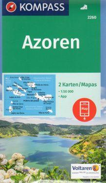 Azoren - Azzorre 1:50.000