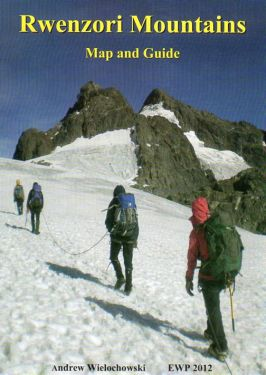 Ruwenzori map and guide 1:50.000