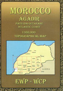 Agadir 1:160.000