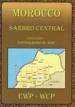 Sarhro Central 1:160.000