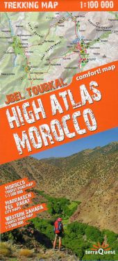 High Atlas Morocco 1:100.000