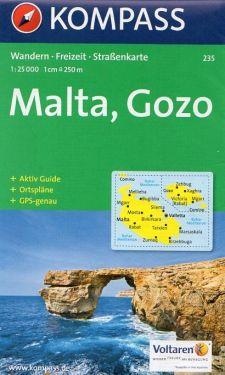 Malta - Gozo 1:25.000