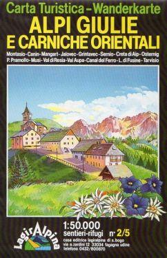 Alpi Giulie e Carniche Orientali f.50/2 1:50.000