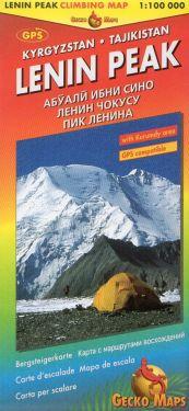 Pik Lenin / Lenin Peak 1:100.000