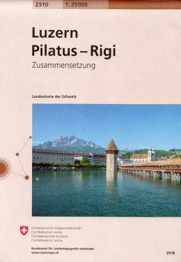 Luzern, Pilatus, Rigi 1:25.000