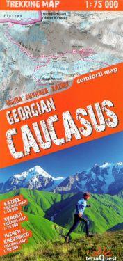 Georgian Caucasus 1:75.000