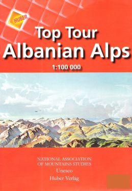 Top tour Albanian Alps 1:100.000