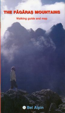 The Fagaras Mountains walking guide and map 1:75.000