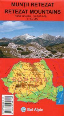 Retezat Mountains 1:50.000