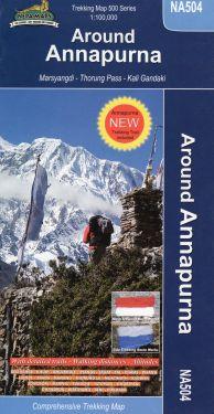 Around Annapurna 1:100.000