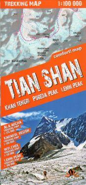 Tian Shan/Tien Shan 1:100.000
