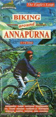 Biking around Annapurna 1:75.000