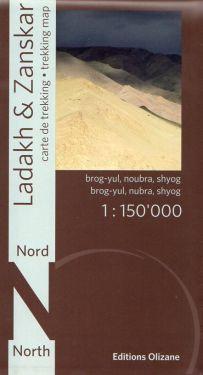 Ladakh & Zanskar North 1:150.000