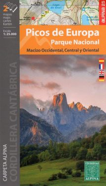 Parque Nacional de Picos de Europa 1:25.000