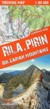 Rila & Pirin, Bulgarian Mountains 1:80.000