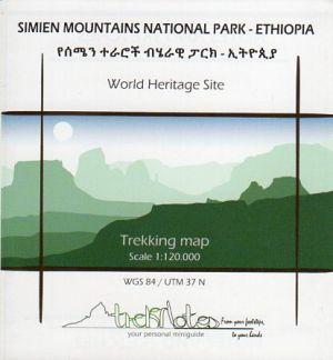 Simien Mountains / Simen Mountains 1:120.000