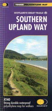 Southern Upland Way 1:40.000 - Portpatrick to Cockburnspath