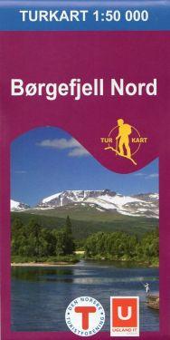 Borgefjell Nord 1:50.000 f 2621