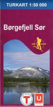 Borgefjell Sor 1:50.000 f 2619