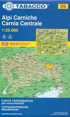 Alpi Carniche, Carnia Centrale 1:25.000