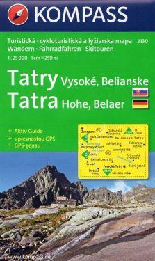 Tatra Hohe, Belaer 1:25.000