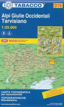 Alpi Giulie Occidentali, Tarvisiano 1:25.000