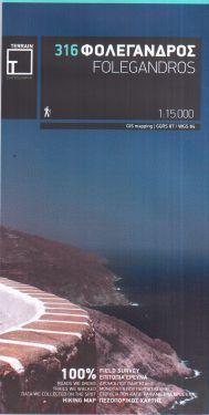 Folegandros / Policandro 1:15.000