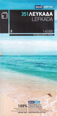 Lefkada / Leucade 1:40.000