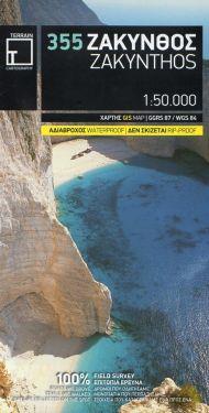 Zakynthos / Zacinto 1:50.000