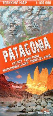 Patagonia - Cerro Torre, Torres del Paine 1:160.000