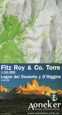 Fitz Roy & Cerro Torre 1:50.000