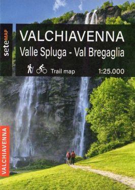 Valchiavenna, Valle Spluga, Val Bregaglia 1:25.000