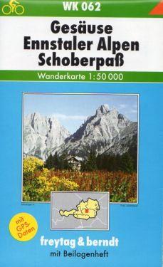 Gesause, Ennstaler Alpen, Schoberpaß 1:50.000