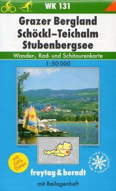 Grazer Bergland, Schockl, Teichalm, Stubenbergsee 1:50.000
