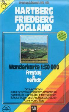 Hartberg, Friedberg, Joglland 1:50.000