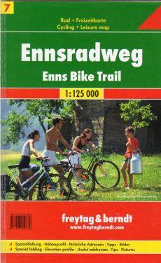 Ennsradweg - Enns Bike Trail 1:125.000