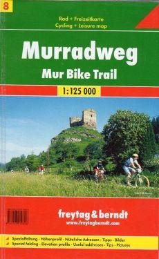 Murradweg - Mur Bike Trail 1:125.000