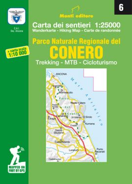 Parco Naturale Regionale del Conero 1:25.000 (6)
