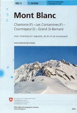 Mont Blanc 1:50.000