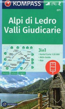 Alpi di Ledro, Valli Giudicarie 1:35.000